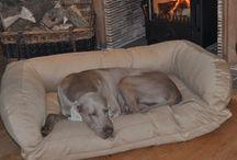 BOLSTER DOG BEDS