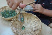 Bandejas Montessori
