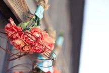 Tangerine + Turquoise + Wood Wedding / Style Shoot with Shalynne Photographic / by Fleur Decor
