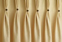 Текстильное оформление окна