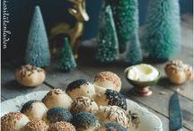 Backen und Kochen zu Weihnachten