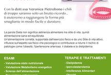 Cosa Facciamo / ESAMI Valutazione stato nutrizionale Valutazione Metabolismo energetico Scienza dell'alimentazione Prevenzione osteoporosi Prevenzione obesità   TERAPIE E TRATTAMENTI: Dislipidemie Ipercolesterolemia Intolleranze Alimentari Obesità Celiachia Diete sportive Trattamenti anticellulite Trattamenti Dimagranti