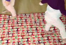 Sleep AA & Famosas / Algunas famosas como Tania Llasera (La Voz Kids) o Macarena Gómez (La que se avecina) disfrutan de nuestros productos con sus peques.