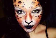 léopart makeup