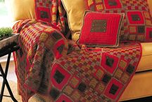 Crochet afghans: Mixed squares