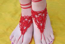 Crochet-footwear / by Vicki Loch Staggs
