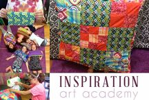 Sewing Classes for Kids / Here you can see photos and videos from the sewing students at Inspiration Art Academy.   The focus of our sewing classes is to show kids how fun sewing can be!  By giving them basic skills, they can begin to create their own ideas and become designers themselves!