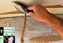How to repair torn drywall paper- Quick Tip