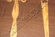 Ahşap Kitap Ayracı --wooden separator page