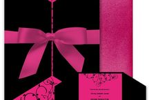 Hot Pink and Black Wedding / by Shelia Coke
