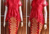sarong n blouse