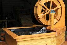 John's water wheel project