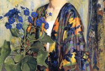 Art - Woman with kimono