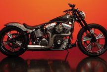 "Softail Harley ""Black Pearl"" Designed by Vida Loca Choppers / Softail Harley Black Pearl Designed by Vida Loca Choppers in 2008"