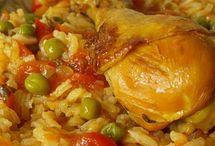 riz aux poulet