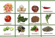 Alimenti naturali per la salute.