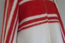 Handmade blanketcoat / Coats or jackets made of vintage blankets