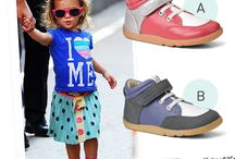 Bobux Stylist / You are the stylist, picking your favorite Bobux shoes for these little fashionistas.