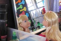 Hairdressers role play area