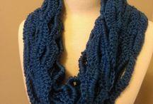 Crochet - scarf / Free scarf crochet patterns  / by Stingy, Thrifty, Broke