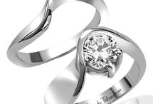 Contemporary Style Engagement Rings