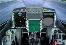 Cockpit svenska stridsflygplan
