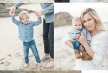 Beach Photography / Beautiful summer photos from beach. Great ideas for your summer mini sessions, family photography and wedding.