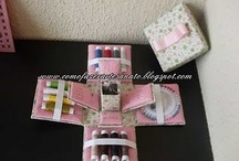 Exploding Box ~ Sewing Kit