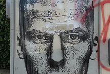 SACUL INIVLA / graffiti street art stencil