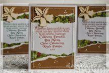 Boże Narodzenie / Ręcznie wykonane przedmioty o tematyce Bożonarodzeniowej, powstałe na bazie produktów marki Papelia i innych dostępnych w sklepie Craft Style