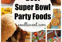 Game Day Grub! / Foods/Snacks for the Big Game
