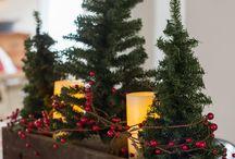 Christmas centre pieces