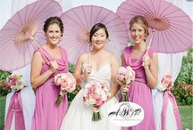 pink weddings / events by AWP