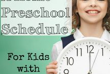 Home Preschool :: Tips, schedules, and spaces