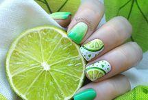 citromos köröm