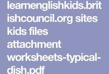 Writing food / Recursos TIC que se pueden utilizar para trabajar la expresión escrita en inglés. Contenidos a trabajar: todos aquellos relacionados con la comida.