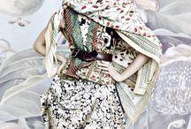 Beautiful fabrics and prints