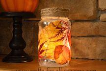 glass jars decor