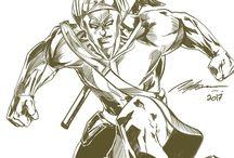 mataram / karakter Mataram oleh rudy moraszo, sketch oleh mahesa bayu suryosubroto