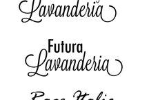 Font combinations