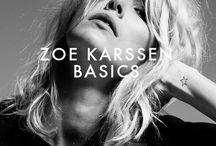 ZOE KARSSEN BASICS / by Zoe Karssen