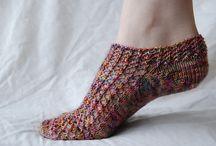 Handwerken = Knitting - Breien Slippers