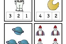 Number recognition space