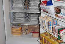 Attempt at Crunchy Mom Food/Cleaning supplies / by Monica Snelling
