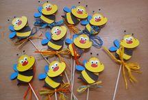 My work - kindergarten / Dekor kindergarten and work with children in my class.