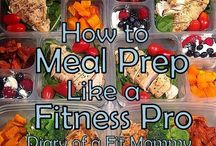 Meal prep/healthy meals / by Amy Joe