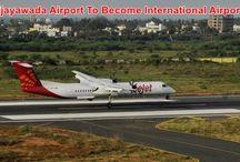 Vijayawada Airport To Become International Airport / LATEST NEWS NEWS AP : Vijayawada Airport To Become International Airport