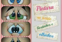 Olhos, carinhas, expressões