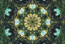 INSTA Kaleidoscope Art / Kaleidoscope / Mandala art