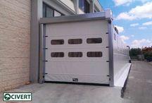 Porte Rapide / Porte rapide per coperture e tunnel mobili in pvc